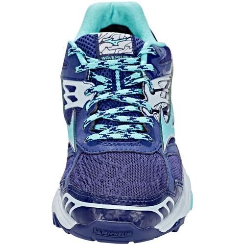 Mizuno Wave Mujin 4 G-TX - Chaussures running Femme - bleu exclusif vue q3cPwkM9lv